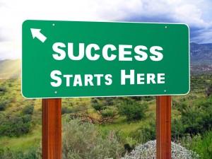 Create a website success