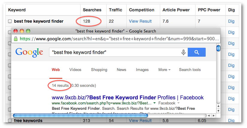 The Best Free Keyword Finder