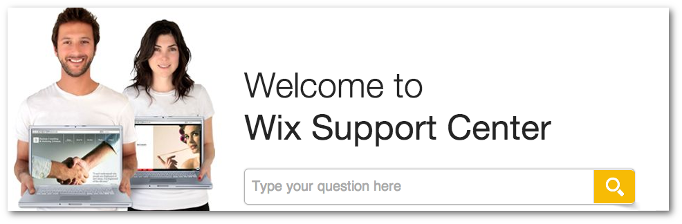 Wix Support Centre